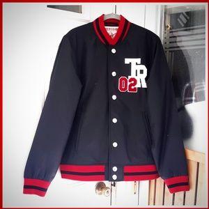 True Religion NWT Varsity Jacket 02 World Tour MED